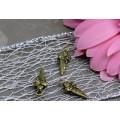 Подвеска для изготовления бижутерии ScrupBerry's Рожок мороженного цвет: античная бронза 1шт