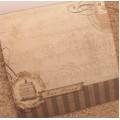 "Бумага для скрапбукинга ТМ Рукоделие серия""Винтаж"" арт.DS003 30,5х30,5см 160гр/м² 1 лист"