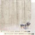 """Бумага для скрапбукинга Fleur  коллекция """"Шебби прованс"""" двусторонняя 30,5х30,5см 190гр/кв.м. 1 лист"""