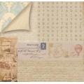 Бумага для скрапбукинга ТМ Рукоделие двусторонняя 30,5х30,5см 180гр/кв.м. 1 лист