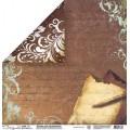 Бумага для скрапбукинга Mr.Painter двусторонняя 30,5х30,5см 220гр/кв.м. 1 лист