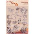 Набор силиконовых штампов mr.Painter Валентинки №1 арт.ASM-10 14х18см