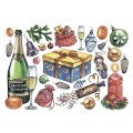 Декупажная карта рисовая Craft Premier A3 Подарки арт.CP05119 25гр/м 1шт