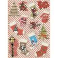 Декупажная карта рисовая Craft Premier A3 Счастливого Рождества арт.CP08890 25гр/м 1шт