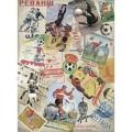 Декупажная карта рисовая Craft Premier A3 Советский футбол арт.CP05592 25гр/м 1шт