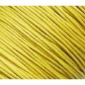 Вощеный шнур толщина: 1мм цвет: желтый 1м