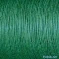 Вощеный шнур толщина: 1мм цвет: зеленый 1м