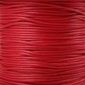 Вощеный шнур толщина: 1мм цвет: красный 1м