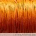 Вощеный шнур толщина: 1мм цвет: оранжевый 1м
