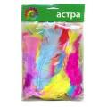 Набор перьев индейки АСТРА цвет: ассорти 20гр