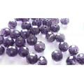 Бусина стекло D8мм цвет: фиолетовый 1шт