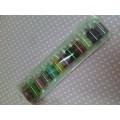 Набор декоративного микробисера в баночках 12 цветов