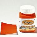 Краска Аква Колор акриловая 100мл цвет: оранжевый