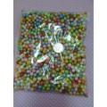 Наполнитель декоративмый материал: пенопласт цвет: мультиколор 8гр