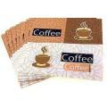 Салфетка для декупажа трехслойная ТМ Страна Карнавалия 33х33см Coffee 1шт