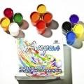 Набор красок Аква Колор акриловых художественно-оформительских 12 цветов