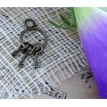 Подвеска для изготовления бижутерии ScrupBerry's Связка ключей 13х27мм арт.SCB25011498цвет: медь 1шт