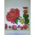 Салфетка для декупажа трехслойная Розы 1шт