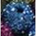 Бусина шамбала D10мм цвет: синий 1шт