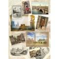 Декупажная карта рисовая А3 Лондонский альбом арт.CP01709 25гр./кв.м 1шт