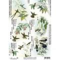 Декупажная карта Freedecor А4 Весна в Пекине арт.DK3002 70гр./кв.м 1шт