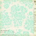Бумага для скрапбукинга Melissa Frances, Classic Elegance, Bits of Paper односторонняя 30,5х30,5см 180гр/кв.м. 1 лист