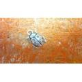 Подвеска для изготовления бижутерии Божья коровка цвет: античное серебро 1шт