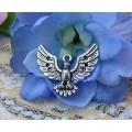Подвеска для изготовления бижутерии ScrupBerry's Орел цвет: античное серебро 1шт