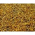 Бисер пр-во Китай цвет: прозрачное золото 100гр