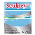 Запекаемая пластика Sculpey III цвет: небесный 57гр