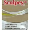 Запекаемая пластика Sculpey III цвет: серый слон 57гр