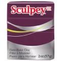 Запекаемая пластика Sculpey III цвет: сливовый 57гр