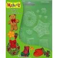 Текстурированный лист Makins Рождество