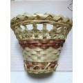 Декоративная плетёная корзинка 14х11см 1шт