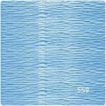 Флористическая гофробумага Италия цвет: №559 светло-голубой 50х250см