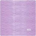 Флористическая гофробумага Италия цвет: №592 светло-сиреневый 50х250см