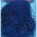 Сизалевое волокно 50гр цвет: синий