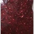 Глиттер для декорирования цвет: красный 50гр