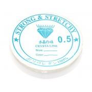 Эластичная нить-резинка для бижутерии №0,5 10м