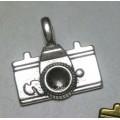 Подвеска для изготовления бижутерии Фотоаппарат 22х20мм цвет: античное серебро 1шт