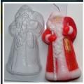 """Форма пластиковая для изготовления мыла """"Дед Мороз"""" 1шт"""