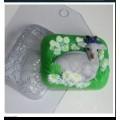 """Форма пластиковая для изготовления мыла """"Коза"""" 1шт"""