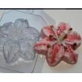 """Форма пластиковая для изготовления мыла """"Лилия"""" 1шт"""