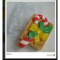 """Форма пластиковая для изготовления мыла """"Рожденственский леденец"""" 1шт"""