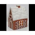 """Форма для изготовления мыла """"Дом в снегу"""" 1шт"""