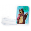 """Форма для изготовления мыла """"Маша и медведь №1"""" 1шт"""