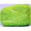 Сизалевое волокно 50гр цвет: салатовый
