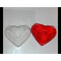 """Форма для изготовления мыла """"Высеченное сердце"""" 1шт"""