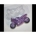 """Форма для изготовления мыла """"Мотоцикл"""" 1шт"""